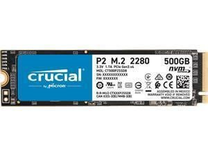 Crucial P2 500GB M.2 NVMe PCIe SSD