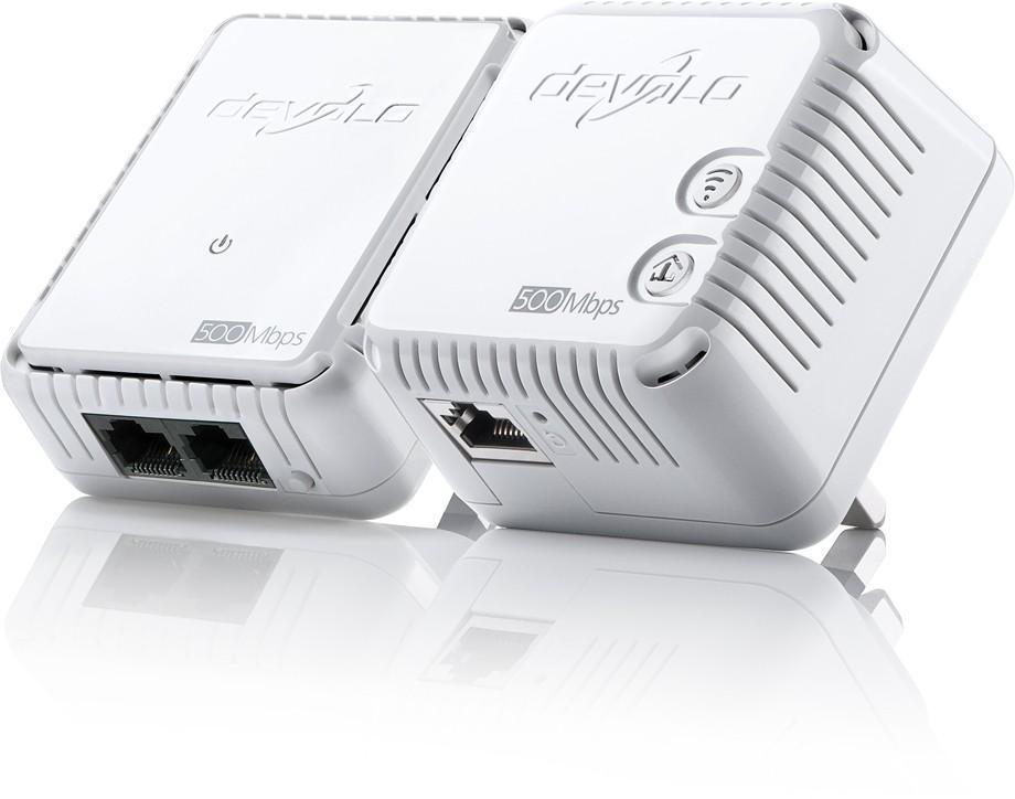Devolo dLAN 500Mbps Wireless-N PowerLine Wifi Starter Kit