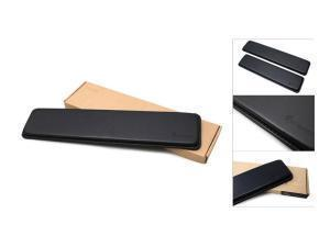 *B-STOCK ITEM SOME SIGNS OF USE*Ducky Wrist Rest Real Leather 440 x 95x 20mm Black