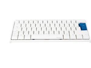 Ducky White One2 Mini RGB Backlit Silent Red Cherry MX Gaming Keyboard