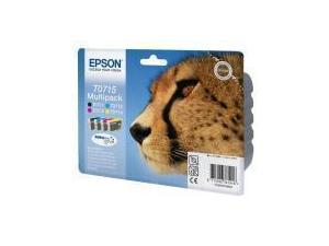 Epson T0715 Multipack Black, Cyan, Magenta, Yellow
