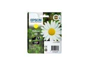 Epson T1804 - Daisy - Yellow Ink Cartridge