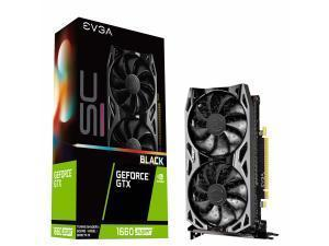 EVGA GeForce GTX 1660 Super SC Ultra Black Gaming 6GB Graphics Card