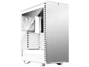 Fractal Design Define 7 Compact Light Tempered Glass White Tower Chassis