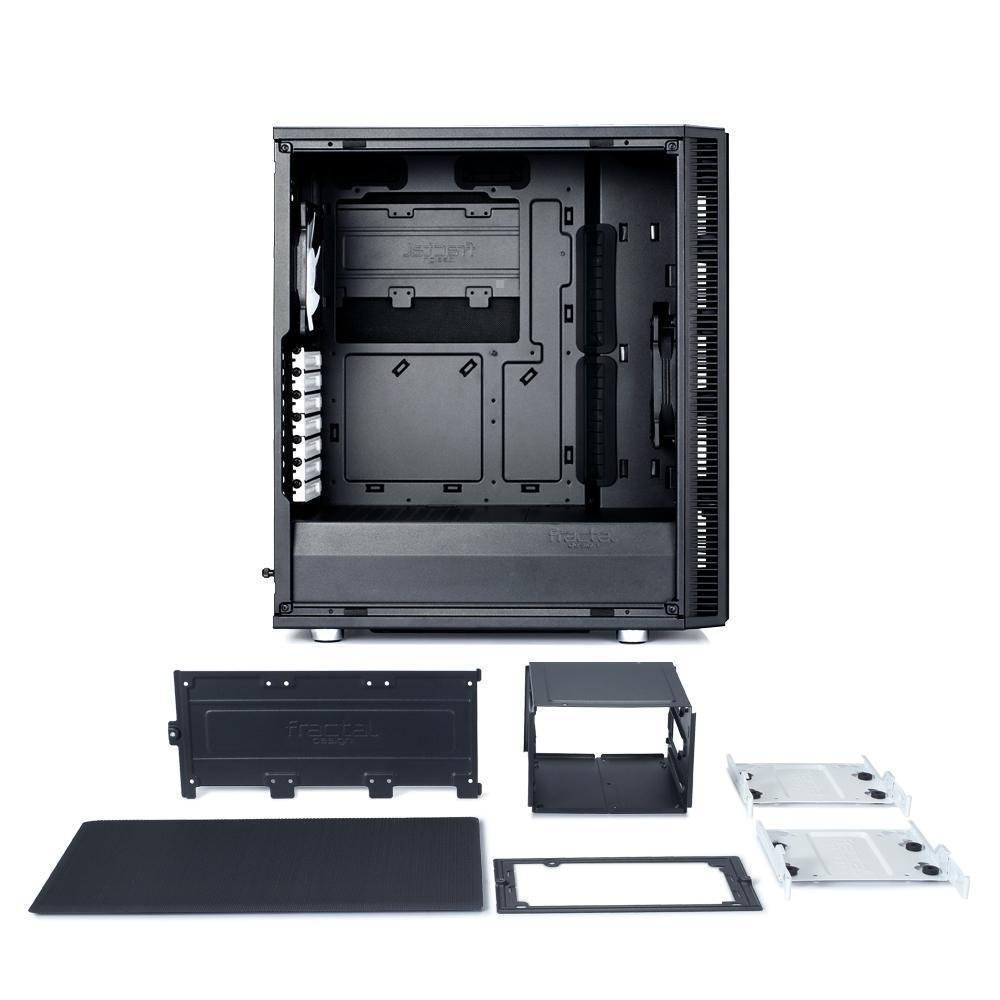 Fractal Design Define C Mid Tower Atx Case Novatech