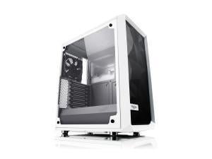 Fractal Design Meshify C White - Tempered Glass
