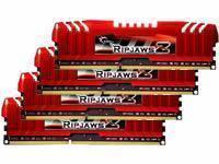 G.Skill RipjawsZ 16GB 4x4GB DDR3 PC3-12800 1600Mhz Quad Channel Kit