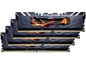 G.Skill Ripjaws 4 Black 32GB 4x8GB DDR4 PC4-22400 2800MHz Quad Channel Kit