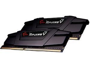 G.SKILL RIPJAWS V BLACK 16GB 2x8GB DDR4 3200MHz Dual Channel Memory RAM Kit