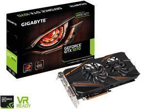 *B- stock item-90 days warranty*GIGABYTE GeForce GTX 1070 WINDFORCE 2X OC 8GB V2 GDDR5 Graphics Card