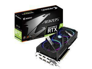 *B-stock item-90 days warranty*Gigabyte Aorus GeForce RTX 2070 Super 8GB Graphics Card