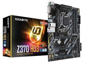 *B-stock item 90 days warranty*Gigabyte Z370 HD3 Socket LGA1151-V2 ATX Motherboard