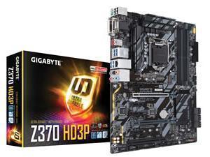 *B-stock item. Board only- 90 days warranty*Gigabyte Z370 HD3P Socket LGA 1151-V2 ATX Motherboard