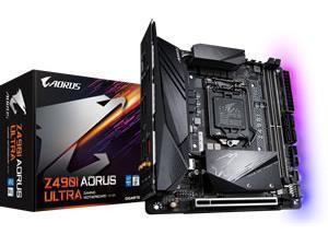 *B-stock item - 90 days warranty*Gigabyte Z490I Aorus Ultra LGA 1200 Z490 Chipset Mini-ITX Motherboard