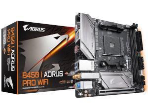 Gigabyte B450 I AORUS PRO WIFI AMD B450 Chipset Socket AM4 Mini-ITX Motherboard