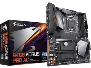 Gigabyte B460 AORUS PRO AC LGA1200 B460 Chipset ATX Motherboard