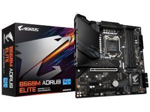 GIGABYTE B560M AORUS ELITE Intel B560 Chipset Socket 1200 Motherboard