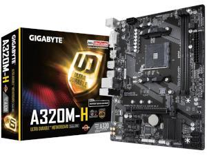 Gigabyte A320M-H AMD A320 Chipset Socket AM4 Micro-ATX Motherboard