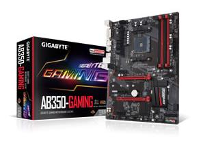 Gigabyte GA-AB350-GAMING AM4 B350 Chipset ATX Motherboard