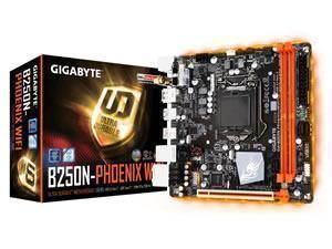 Gigabyte GA-B250N Phoenix-WIFI rev. 1.0 B250 Chipset Motherboard.