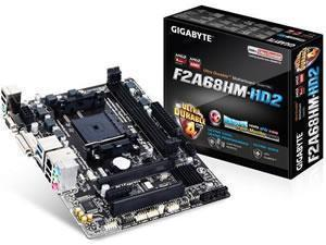 GIGABYTE GA-F2A68HM-HD2 AMD A68H Socket FM2plus Micro ATX Motherboard