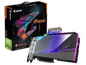 GIGABYTE NVIDIA GeForce RTX 3080 Aorus Xtreme Waterforce WB Rev 2.0 10GB GDDR6X Graphics Card