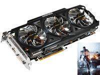 GIGABYTE Radeon R9 280X WINDFORCE 3X OC BF4 Edition 3GB