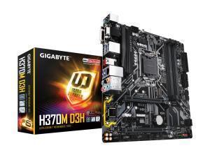 Gigabyte H370M D3H LGA1151 H370 Micro-ATX Motherboard