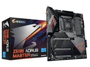 GIGABYTE Z590 AORUS MASTER Intel Z590 Chipset Socket 1200 Motherboard