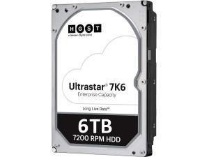 HGST Ultrastar 7K6000 6TB 3.5And#34; Enterprise SAS  Hard Drive HDD