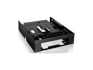 FLEX-FIT Trio MB343SP 3.5And#34; to 5.25And#34; Front Bay Conversion Kit with Additional 2 x 2.5And#34; HDD/SSD Bay