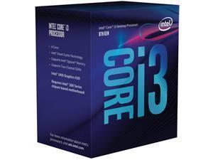 Intel Core i3 8100 3.6GHz Coffee Lake Desktop Processor/CPU