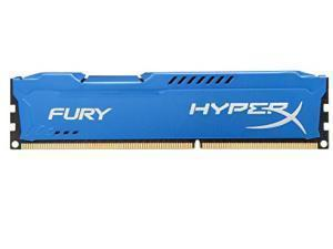 Kingston HyperX Fury Blue 4GB DDR3 1600MHz Memory RAM Module