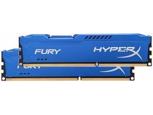 Kingston HyperX Fury Blue 16GB 2x8GB DDR3 PC3-12800 1600MHz Dual Channel Kit