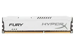 Kingston HyperX Fury White 4GB DDR3 1600MHz Memory RAM Module