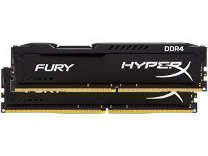 HyperX Fury Black 16GB 2x8GB DDR4 2400MHz Dual Channel Memory RAM Kit