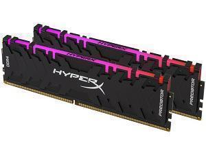 Kingston HyperX Predator RGB 16GB 2 x 8GB DDR4 2933MHz Dual Channel Memory RAM Kit