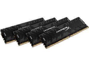 Kingston HyperX Predator 16GB 4x4GB DDR4 3200MHz Dual Channel Memory RAM Kit