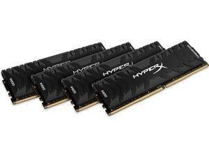 Kingston HyperX Predator 64GB 4x16GB DDR4 3200MHz Quad Channel Memory RAM Kit