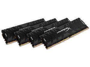 Kingston HyperX Predator 32GB 4 x 8B DDR4 3333MHz Quad Channel Memory RAM Kit