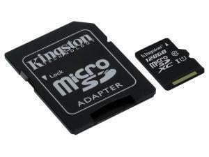 Kingston 128GB microSDXC Class 10 Memory Card