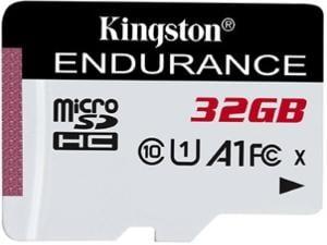 KIngston High Endurance 32GB MicroSD Memory Card