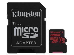 Kingston Canvas React 128GB MicroSDXC Memory Card