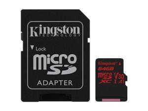 Kingston Canvas React 64GB MicroSDXC Memory Card