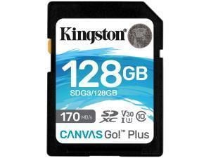 Kingston Canvas Go! Plus 128GB SD Memory Card