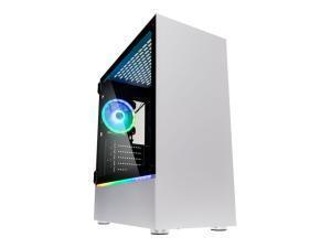 Kolink Bastion RGB Midi Tower Gaming Case - White