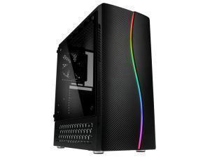 Kolink Inspire Series K5 RGB Midi Tower Case - Black Window