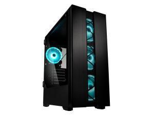 Kolink Phalanx Midi Tower RGB Gaming Case - Black