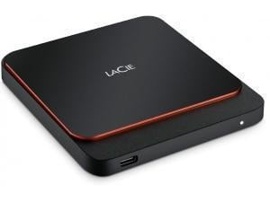 LaCie Portable 500GB External Solid State Drive SSD