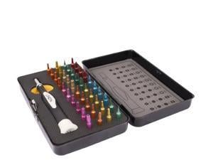 Lindy 40 Piece Colour Coded Precision Screwdriver And Torx Set